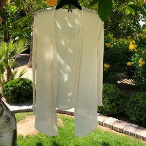 Volcom Sweaters - Volcom white sweater cardigan S